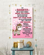 HORSE  - DON'T LET TODAY'S TROUBLES POSTER 11x17 Poster lifestyle-holiday-poster-3
