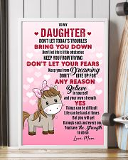 HORSE  - DON'T LET TODAY'S TROUBLES POSTER 11x17 Poster lifestyle-poster-4