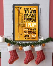 TRUMPET - I DON'T PLAY TO WIN COMPETITIONS 11x17 Poster lifestyle-holiday-poster-4