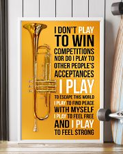 TRUMPET - I DON'T PLAY TO WIN COMPETITIONS 11x17 Poster lifestyle-poster-4