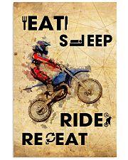 EAT SLEEP RIDE MOTOCROSS 11x17 Poster front