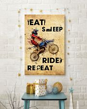 EAT SLEEP RIDE MOTOCROSS 11x17 Poster lifestyle-holiday-poster-3