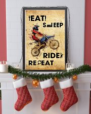 EAT SLEEP RIDE MOTOCROSS 11x17 Poster lifestyle-holiday-poster-4