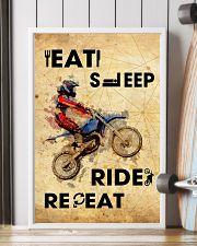 EAT SLEEP RIDE MOTOCROSS 11x17 Poster lifestyle-poster-4
