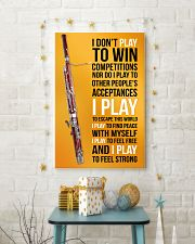 BASSOON - I DON'T PLAY TO WIN COMPETITIONS 11x17 Poster lifestyle-holiday-poster-3