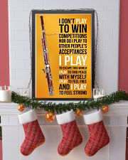BASSOON - I DON'T PLAY TO WIN COMPETITIONS 11x17 Poster lifestyle-holiday-poster-4
