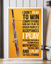 BASSOON - I DON'T PLAY TO WIN COMPETITIONS 11x17 Poster lifestyle-poster-4