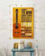 CLASSICAL GUITAR - I DON'T PLAY TO WIN COMPETITION 11x17 Poster lifestyle-holiday-poster-3