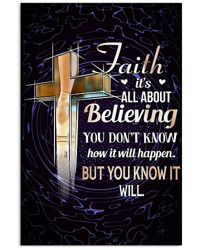 DANCE - FAITH IT'S ALL ABOUT BELIEVING