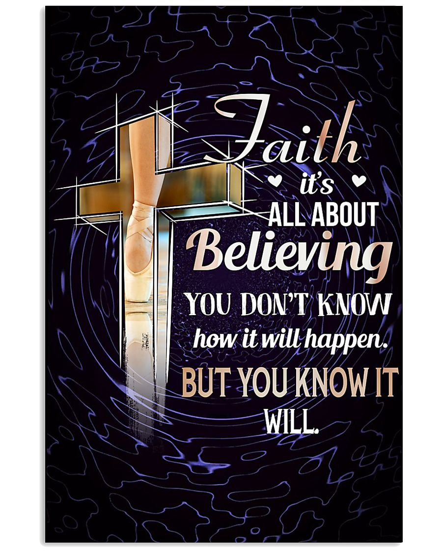 DANCE - FAITH IT'S ALL ABOUT BELIEVING 11x17 Poster