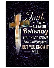 DANCE - FAITH IT'S ALL ABOUT BELIEVING 11x17 Poster front