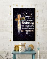 DANCE - FAITH IT'S ALL ABOUT BELIEVING 11x17 Poster lifestyle-holiday-poster-3