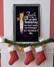 DANCE - FAITH IT'S ALL ABOUT BELIEVING 11x17 Poster lifestyle-holiday-poster-4