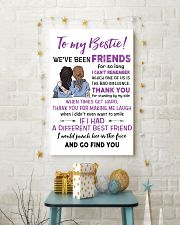 TO MY BESTIE WE'VE BEEN FRIENDS - NURSE POSTER 11x17 Poster lifestyle-holiday-poster-3