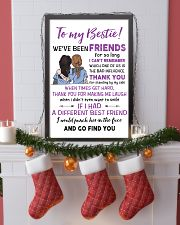TO MY BESTIE WE'VE BEEN FRIENDS - NURSE POSTER 11x17 Poster lifestyle-holiday-poster-4