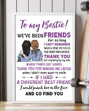 TO MY BESTIE WE'VE BEEN FRIENDS - NURSE POSTER 11x17 Poster lifestyle-poster-4