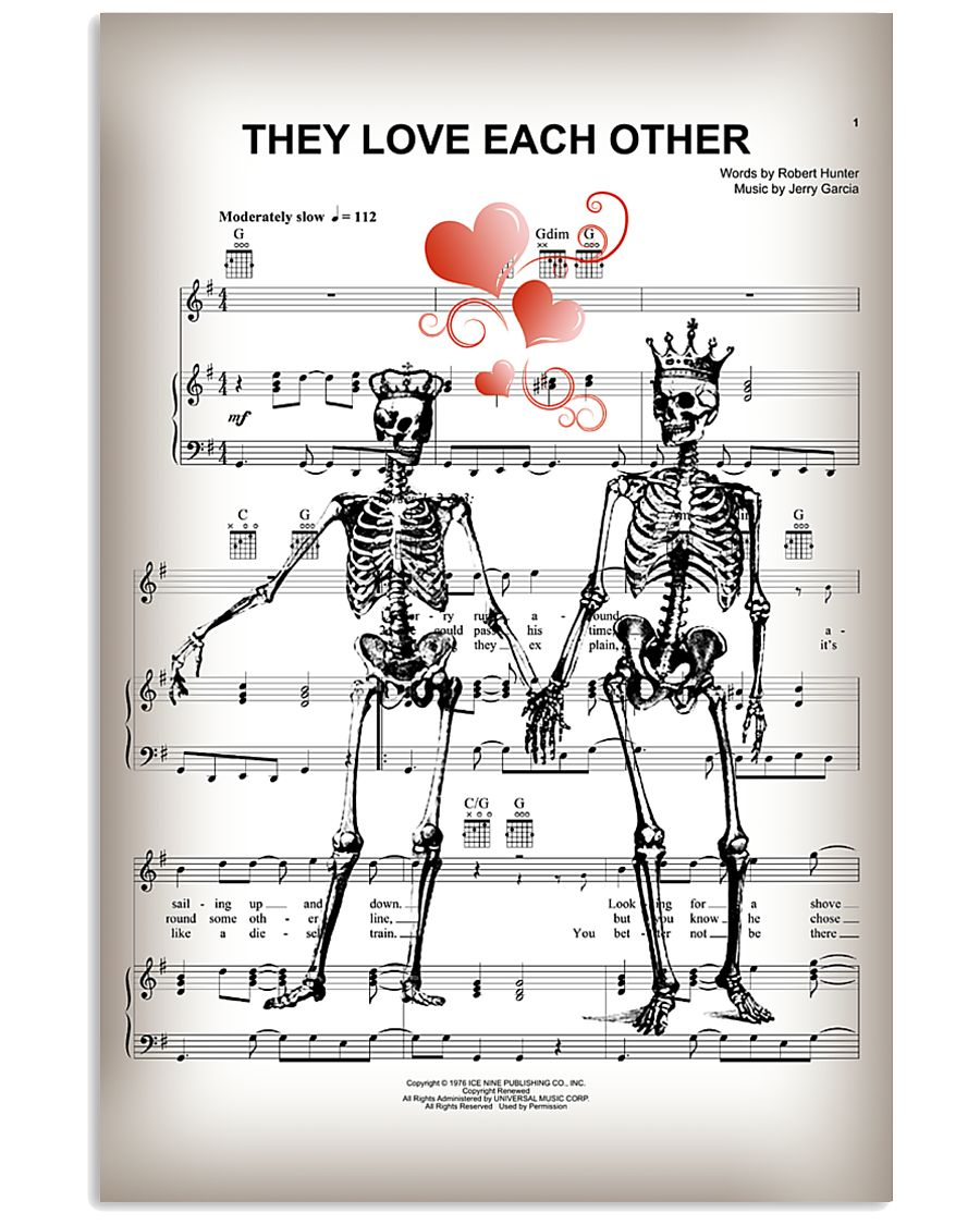 THEY LOVE EACH OTHER POSTER 11x17 Poster