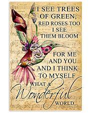 Hummingbird - Wonderful World Poster SKY 11x17 Poster front