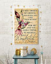 Hummingbird - Wonderful World Poster SKY 11x17 Poster lifestyle-holiday-poster-3