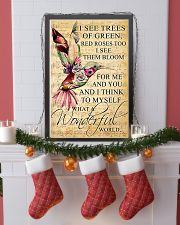 Hummingbird - Wonderful World Poster SKY 11x17 Poster lifestyle-holiday-poster-4