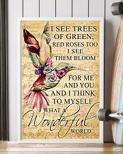 Hummingbird - Wonderful World Poster SKY 11x17 Poster lifestyle-poster-4