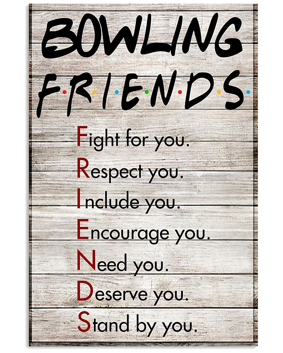 Bowling Friends - Poster 11x17 Poster