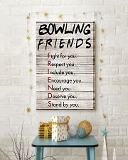 Bowling Friends - Poster 11x17 Poster lifestyle-holiday-poster-3