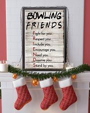 Bowling Friends - Poster 11x17 Poster lifestyle-holiday-poster-4