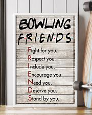Bowling Friends - Poster 11x17 Poster lifestyle-poster-4