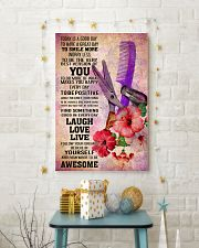 HAIR STYLIST- TODAY IS A GOOD DAY POSTER 16x24 Poster lifestyle-holiday-poster-3