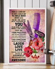 HAIR STYLIST- TODAY IS A GOOD DAY POSTER 16x24 Poster lifestyle-poster-4