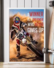 Motocross - A Winner Is A Dreamer Poster - SR 11x17 Poster lifestyle-poster-4