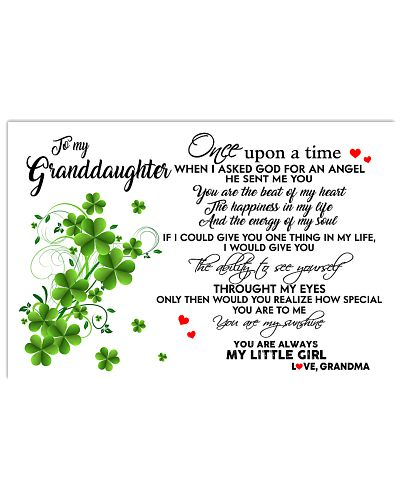 TO MY GRANDDAUGHTER- ONE UPON A TIME POSTER