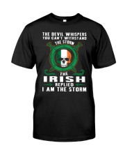 the storm Classic T-Shirt front
