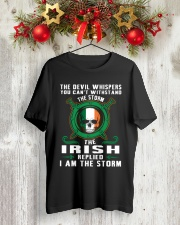 the storm Classic T-Shirt lifestyle-holiday-crewneck-front-2