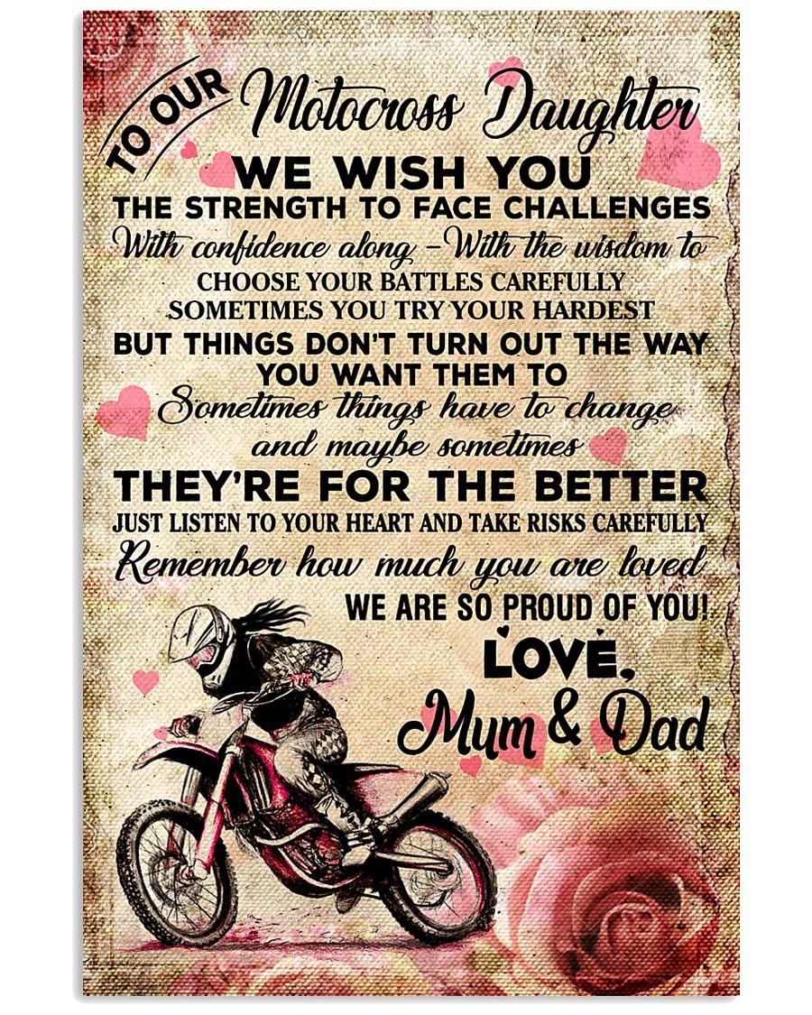 9 For The Better - Motocross - Mum Dad 16x24 Poster