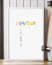 TAEKWONDO F R I E N D S FRIENDS ART 11x17 Poster lifestyle-poster-4