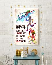 Triathlon - Heroes are made Poster SKY 11x17 Poster lifestyle-holiday-poster-3