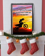 Motocross It Gets Easier Poster 11x17 Poster lifestyle-holiday-poster-4
