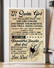 TO MY SWIM GIRL - DAD 16x24 Poster lifestyle-poster-4
