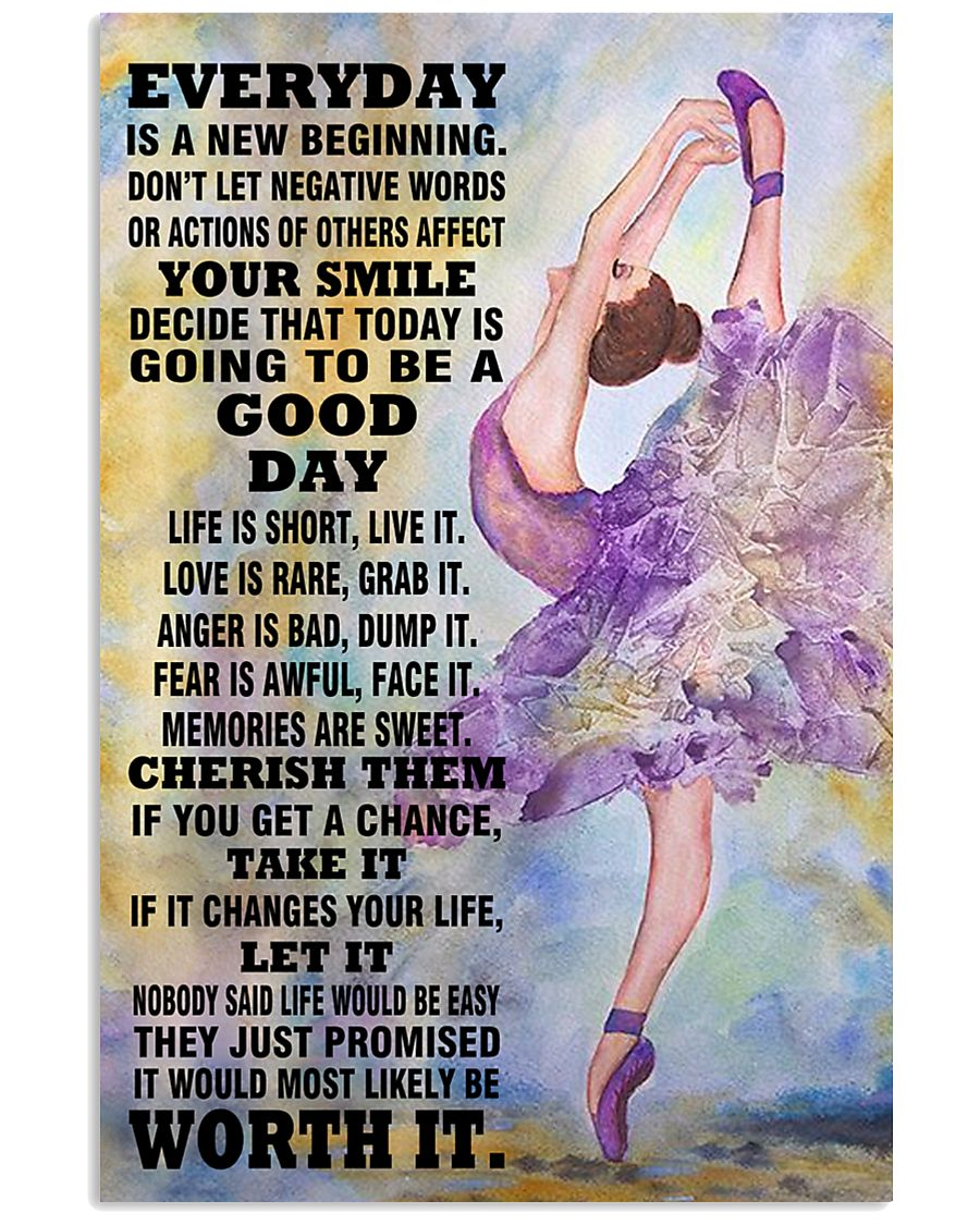 DANCE EVERYDAY IS A NEW 11x17 Poster