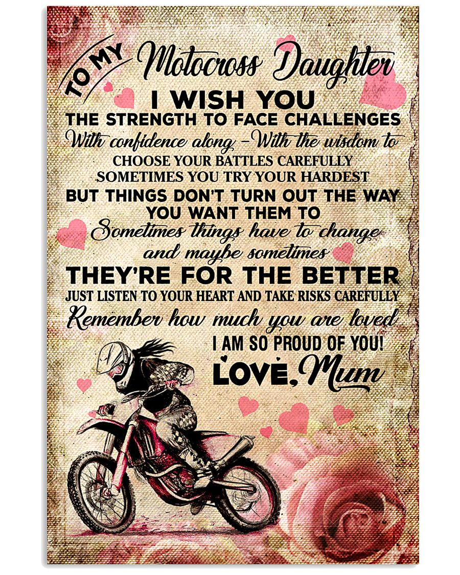 7 For The Better - Motocross 11x17 Poster