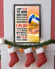 I DON'T PLAY TO WIN COMPETITIONS - VOLLEYBALL 11x17 Poster lifestyle-holiday-poster-4