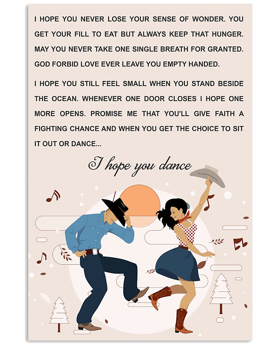line DANCE SONG POSTER 11x17 Poster