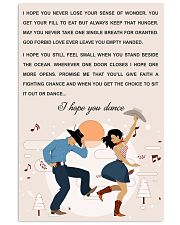 line DANCE SONG POSTER 11x17 Poster front