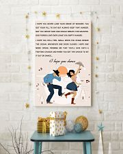 line DANCE SONG POSTER 11x17 Poster lifestyle-holiday-poster-3