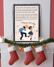 line DANCE SONG POSTER 11x17 Poster lifestyle-holiday-poster-4