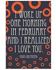 February- I WOKE UP ONE MORNING 16x24 Poster front