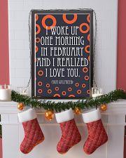 February- I WOKE UP ONE MORNING 16x24 Poster lifestyle-holiday-poster-4