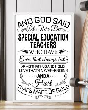 23- AND GOD SAID - SPECIAL EDUCATION TEACHERS POST 11x17 Poster lifestyle-poster-4